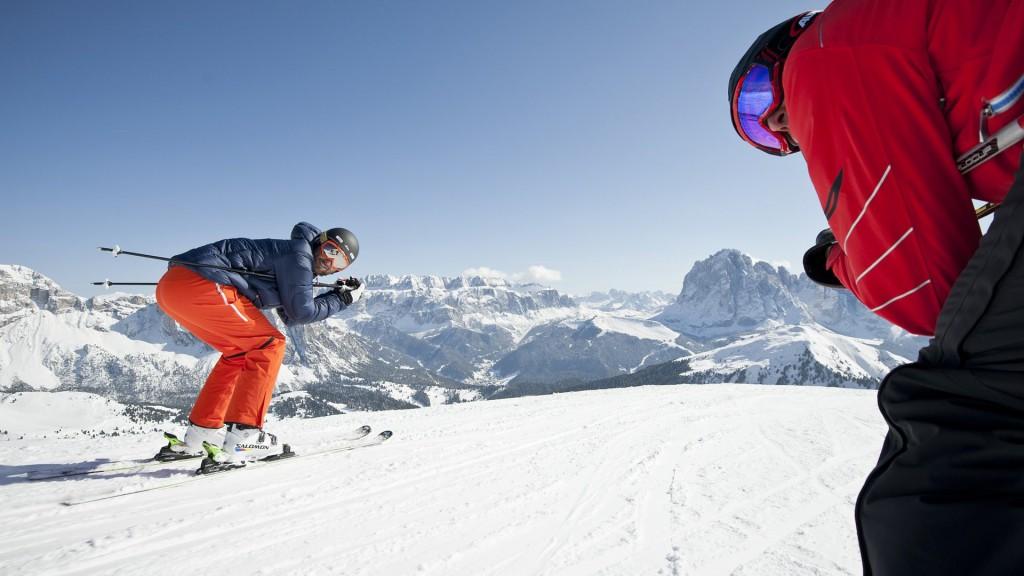 ski, Selva, Val Gardena